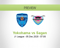 Yokohama Sagan betting prediction (05 December 2020)