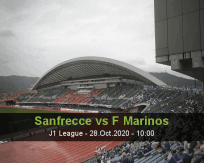 Sanfrecce Hiroshima Yokohama F. Marinos betting prediction (28 October 2020)