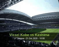 Vissel Kobe Kashima Antlers betting prediction (21 October 2020)