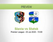 Slavia vs Slutsk