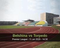 Belshina Torpedo BelAZ betting prediction (11 July 2020)