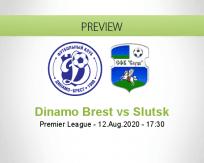 Dinamo Brest Slutsk betting prediction (12 August 2020)