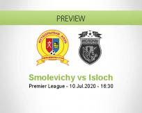 Smolevichy-STI Isloch betting prediction (10 July 2020)