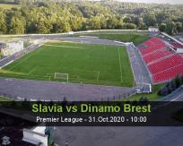 Slavia Dinamo Brest betting prediction (31 October 2020)