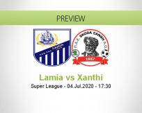 Lamia vs Xanthi