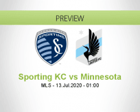 Sporting KC Minnesota United FC betting prediction (13 July 2020)