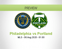 Philadelphia Union Portland Timbers betting prediction (06 August 2020)