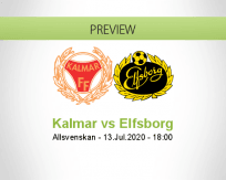 Kalmar Elfsborg betting prediction (13 July 2020)