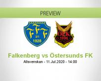 Falkenberg Östersunds FK betting prediction (11 July 2020)