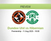 Dundee United vs Hibernian