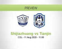 Shijiazhuang Ever Bright vs Tianjin Teda