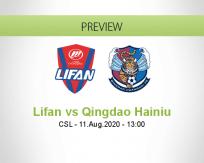Chongqing Lifan vs Qingdao Huanghai
