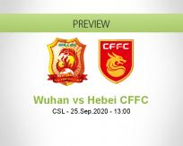 Wuhan Zall Hebei CFFC betting prediction (25 September 2020)
