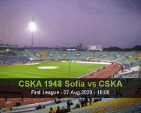 CSKA 1948 Sofia CSKA Sofia betting prediction (07 August 2020)