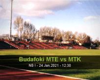 Budafoki MTE MTK betting prediction (24 January 2021)