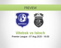 Vitebsk Isloch betting prediction (07 August 2020)