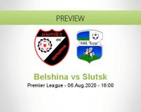 Belshina Slutsk betting prediction (06 August 2020)