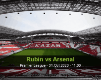 Rubin Kazan Arsenal Tula betting prediction (31 October 2020)