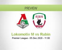 Lokomotiv M Rubin betting prediction (05 December 2020)