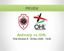 Antwerp OHL betting prediction (01 December 2020)