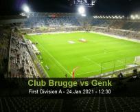 Club Brugge Genk betting prediction (24 January 2021)