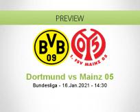 Dortmund vs Mainz 05