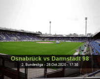 Osnabrück Darmstadt 98 betting prediction (28 October 2020)