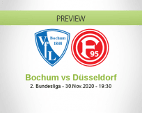 Bochum Düsseldorf betting prediction (01 December 2020)