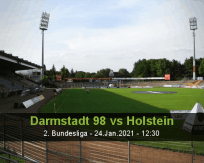 Darmstadt 98 Holstein betting prediction (24 January 2021)