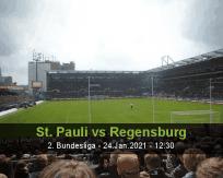 St. Pauli Regensburg betting prediction (24 January 2021)