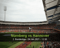 Nürnberg Hannover betting prediction (24 January 2021)