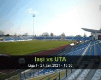 Iaşi UTA betting prediction (27 January 2021)