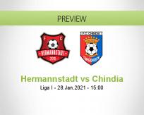 Hermannstadt vs Chindia