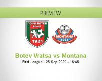 Botev Vratsa Montana betting prediction (25 September 2020)