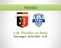 Lokomotiv Plovdiv Arda betting prediction (20 October 2020)