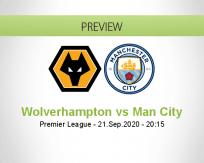 Wolverhampton Wanderers vs Manchester City