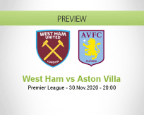 West Ham Aston Villa betting prediction (01 December 2020)