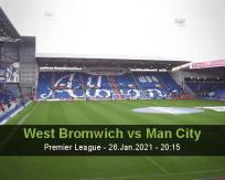 West Bromwich vs Man City