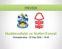 Huddersfield Town Nottingham Forest betting prediction (26 September 2020)