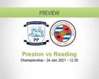 Preston Reading betting prediction (24 January 2021)