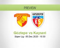 Göztepe Kayseri betting prediction (05 December 2020)