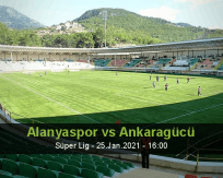Alanyaspor Ankaragücü betting prediction (26 January 2021)