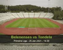 Belenenses vs Tondela