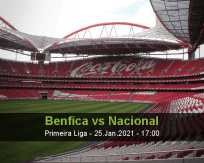 Benfica Nacional betting prediction (26 January 2021)