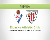 Eibar Athletic Club betting prediction (27 September 2020)