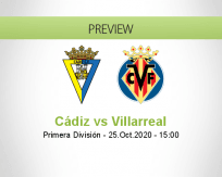 Cádiz vs Villarreal