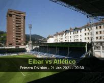 Eibar vs Atlético