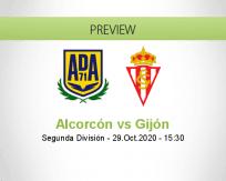 Alcorcón vs Sporting Gijón