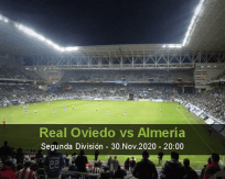 Real Oviedo Almería betting prediction (01 December 2020)