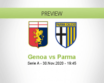 Genoa Parma betting prediction (01 December 2020)